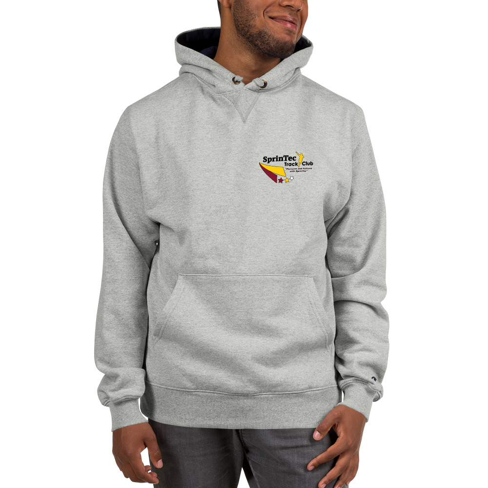 Hoodie Sprintec S171 Cotton Max Champion Grey dxBoCe